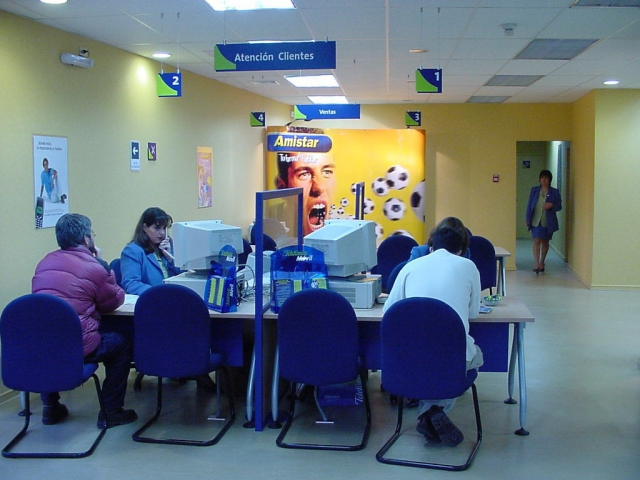 Local de Telefonica Movistar en Chile
