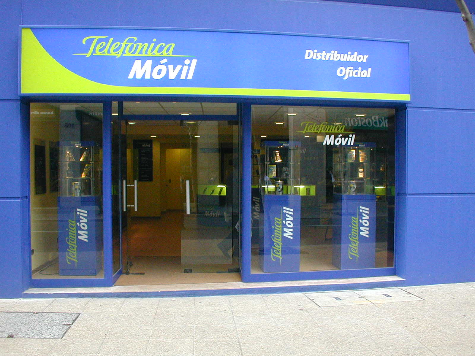 Local de Telefónica Movistar en Chile