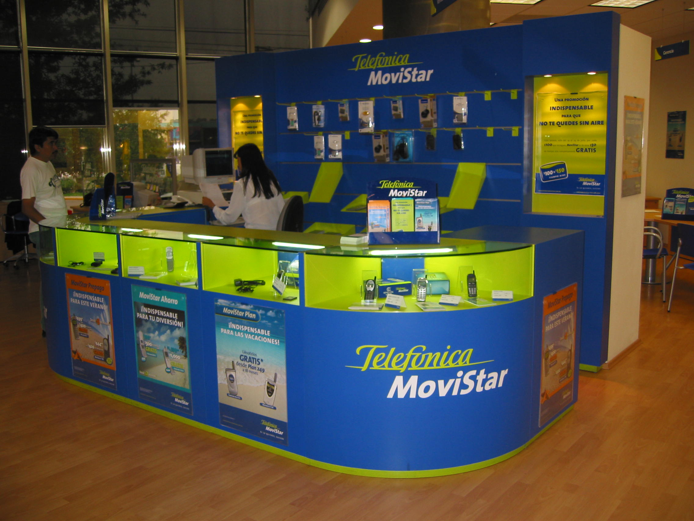 Local de Telefónica Movistar en México