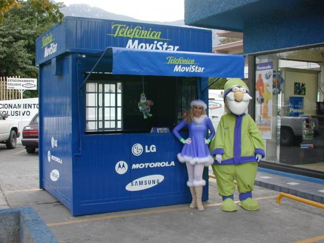 Pop Up Store Telefónica Movistar