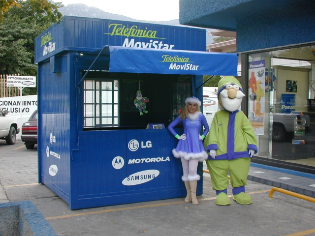 Pop Up Store Telefónica Movistar