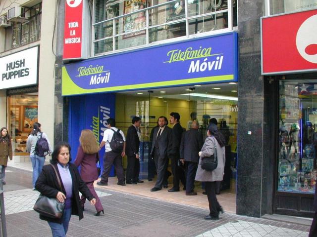 Local Telefonica Movistar en Chile